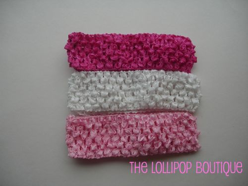 1.5  Crochet Headbands
