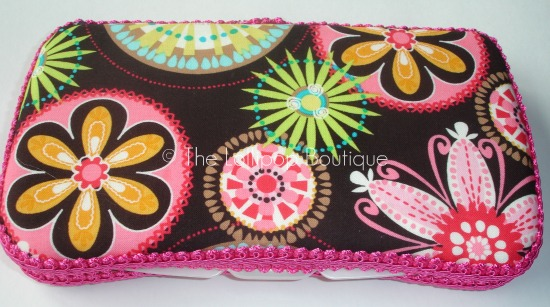 Carnival Bloom Fabric Wipe Case