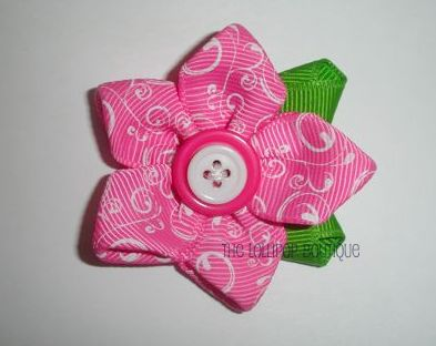 5 Petal Ribbon Flowers