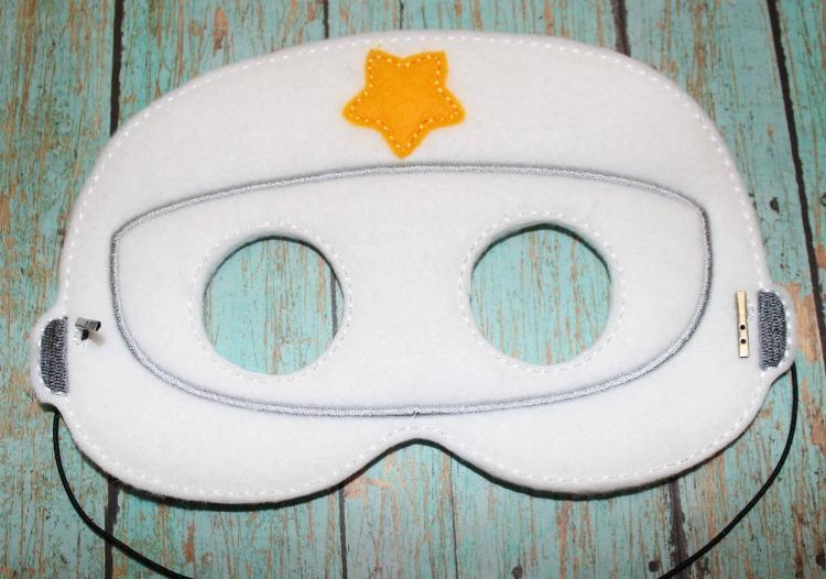 Astronaut Felt Mask