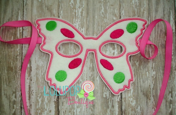 Felt Butterfly Dress Up Mask