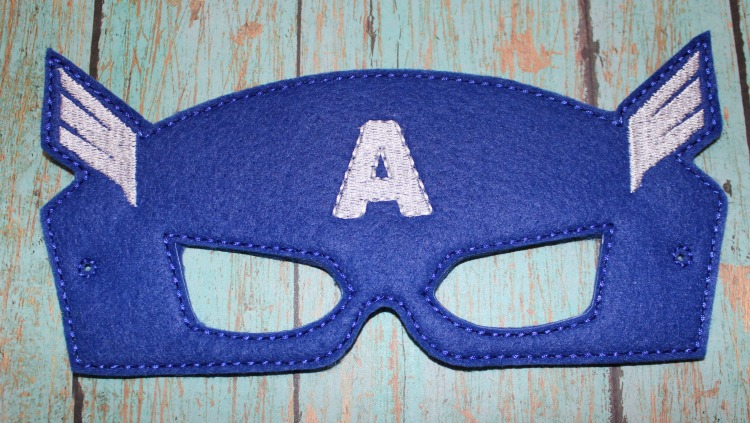 Captain A Felt Dress Up Mask