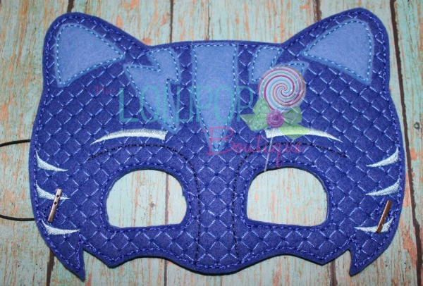 Cat Boy Felt Dress Up Mask