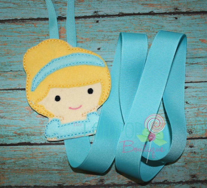 Princess Cindy Felt Bow Holder