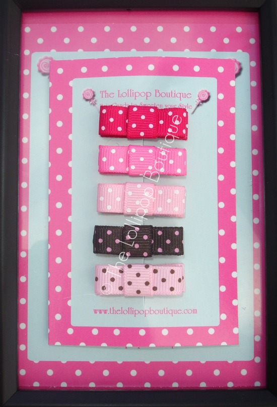 Girly Girl Baby Snap Clips