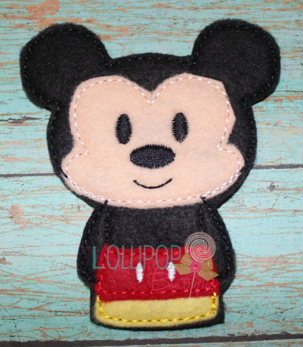 Mr. Mouse Felt Finger Puppet
