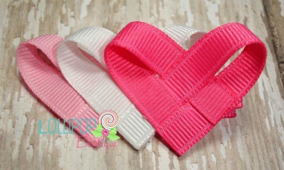 Woven Heart Hair Clip